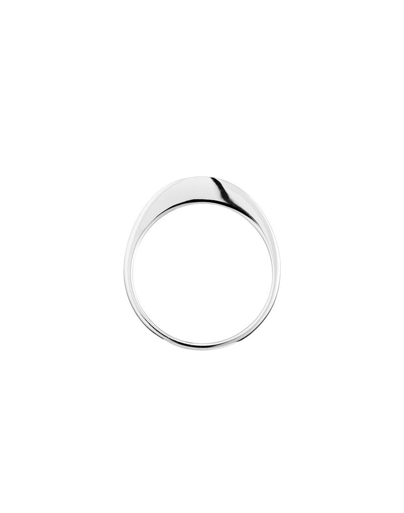 FLARE<br>Ring, sterling silver