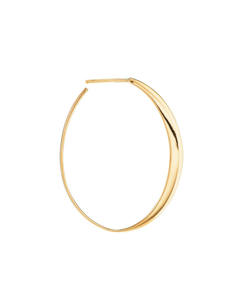 GLOW MEDIUM<br>Earring (one piece), 18k gold