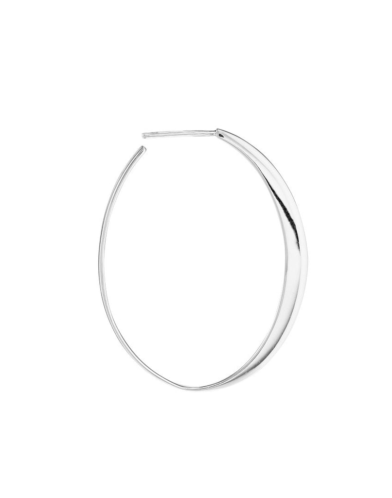 GLOW MEDIUM<br>Earring (one piece), sterling silver