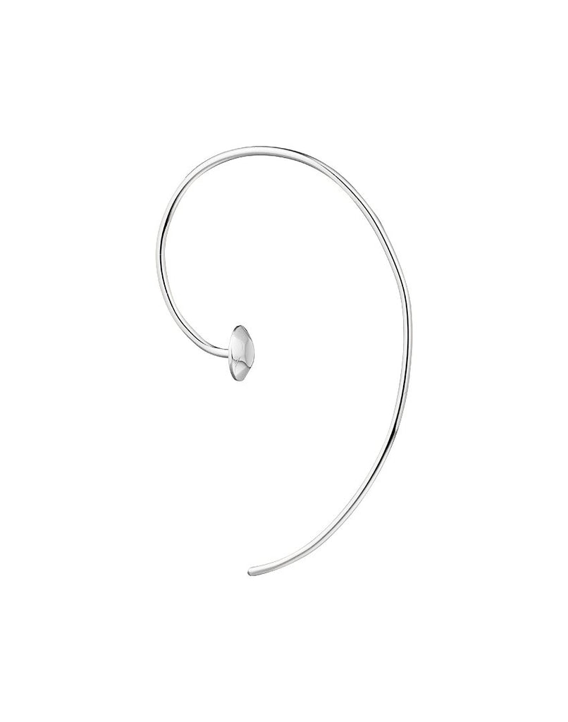 KINSMEN<br>Earring (one piece), sterling silver