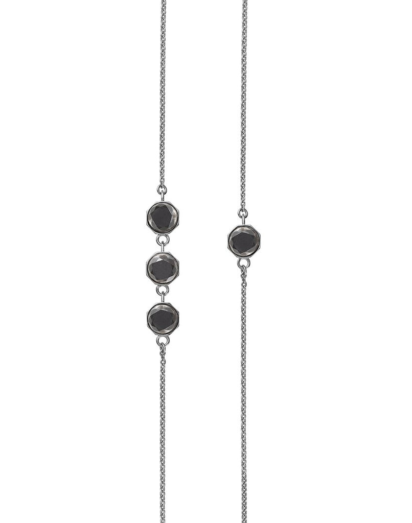 OTHER BLOOMS<br>Necklace, sterling silver