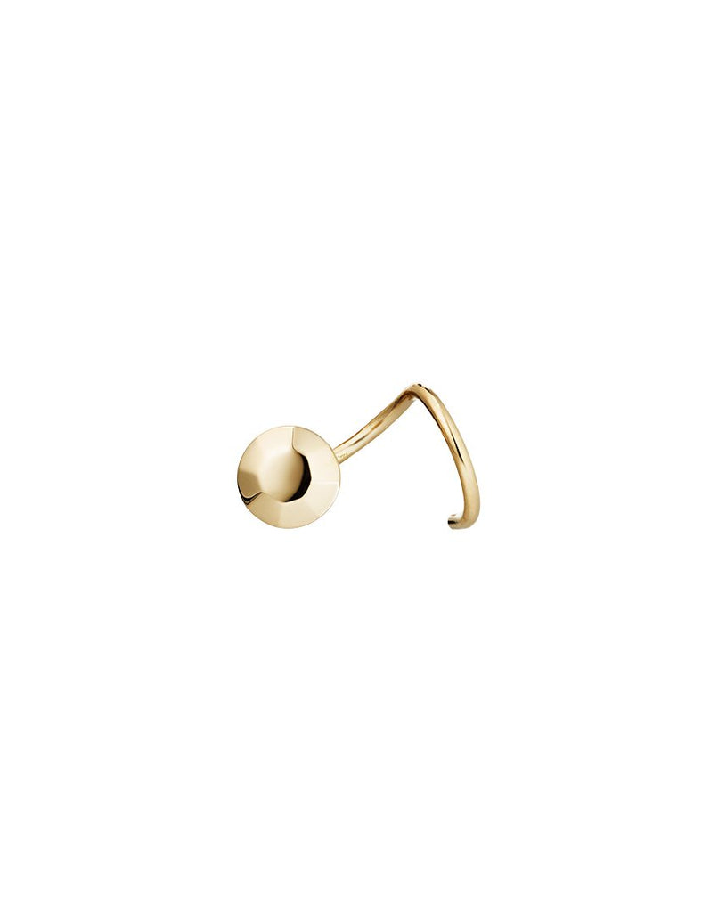 THE MOSS<br>Earring, right (one piece), 18k gold