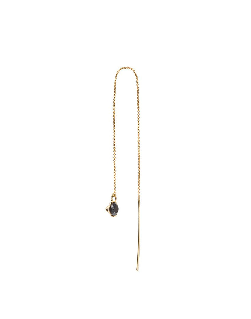 THE SKY<br>Earring (one piece), 18k gold