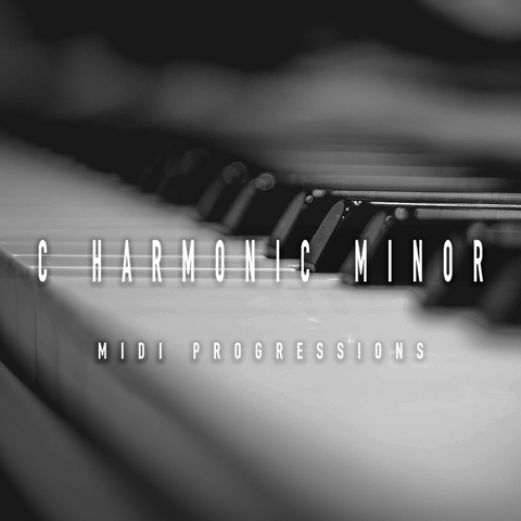 MIDI Progressions - C Harmonic Minor Pack