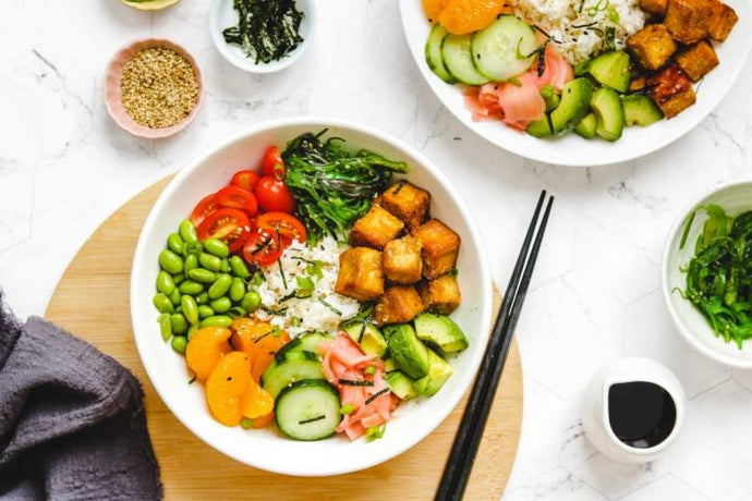 Building a Vegan Poke Bowl