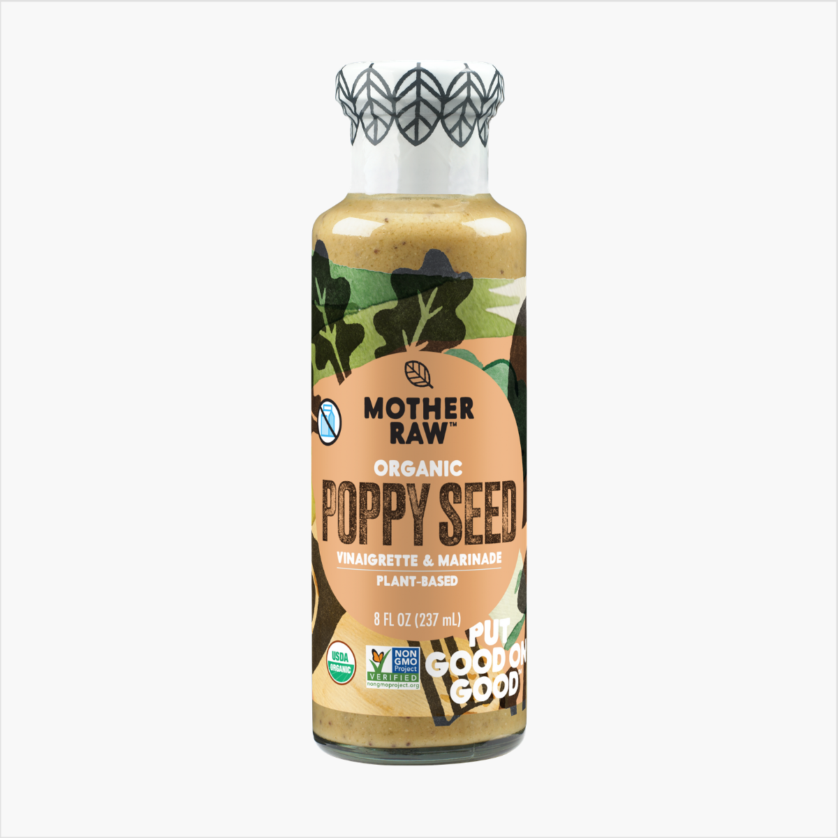 Poppy Seed Dressing Mother Raw