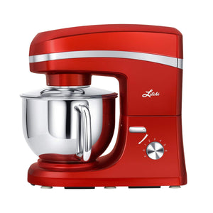 Litchi 5.5 Quart Stand Mixer, Red - LitchiLive