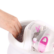 Load image into Gallery viewer, Litchi Electric Manicure Pedicure Kit, Rhodamine Red - LitchiLive