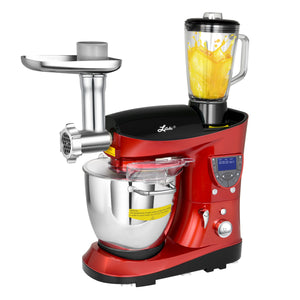 7.4 Quart Professional Stand Mixer by Litchi, Red - LitchiLive