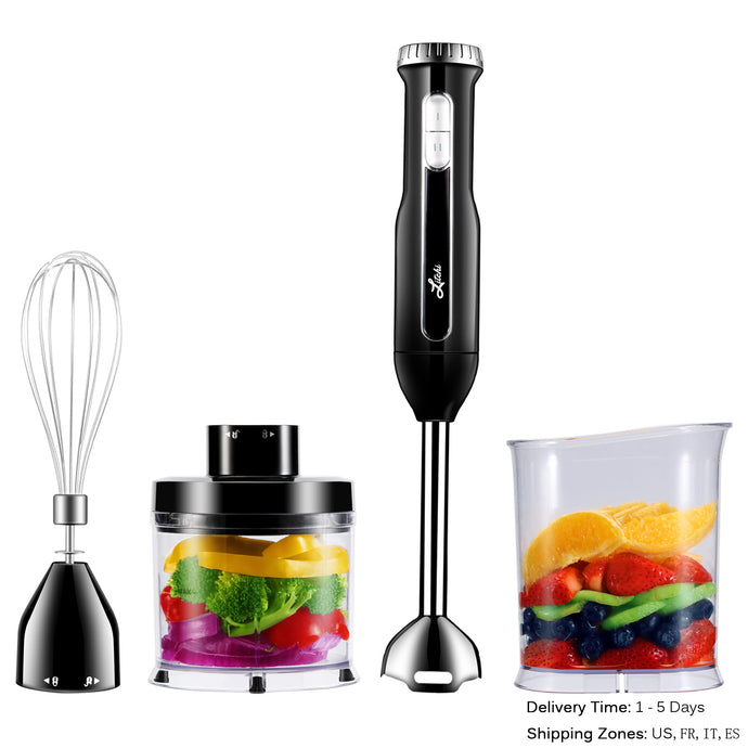 4-IN-1 Immersion Hand Blender Set by Litchi