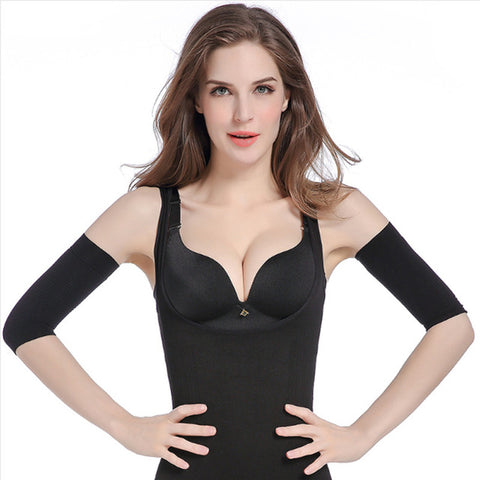 Toneup Shapeup Slimming Compression Arm Shaper Slimming Arm Belt Helps Tone Shape Upper Arms Sleeve Shape Arm Taping Massage For Women