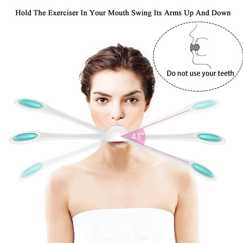 Face Muscles Training Slim Wand Anti Wrinkles Massager Smile Fitness Exercise Facial Fitness Massager Slim Beauty Tool