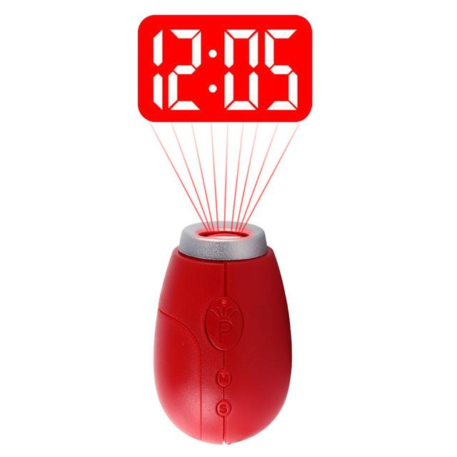 Key Ring Projector Clock