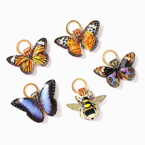 Tovi Sorga - Leather Butterfly Keyring