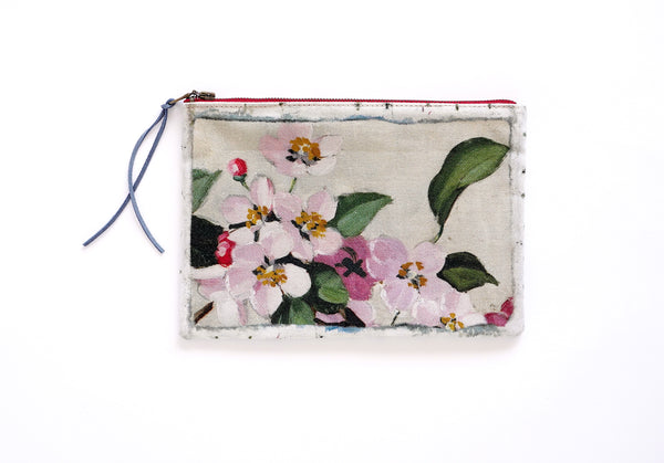 Swarm - Printed Linen Pouch