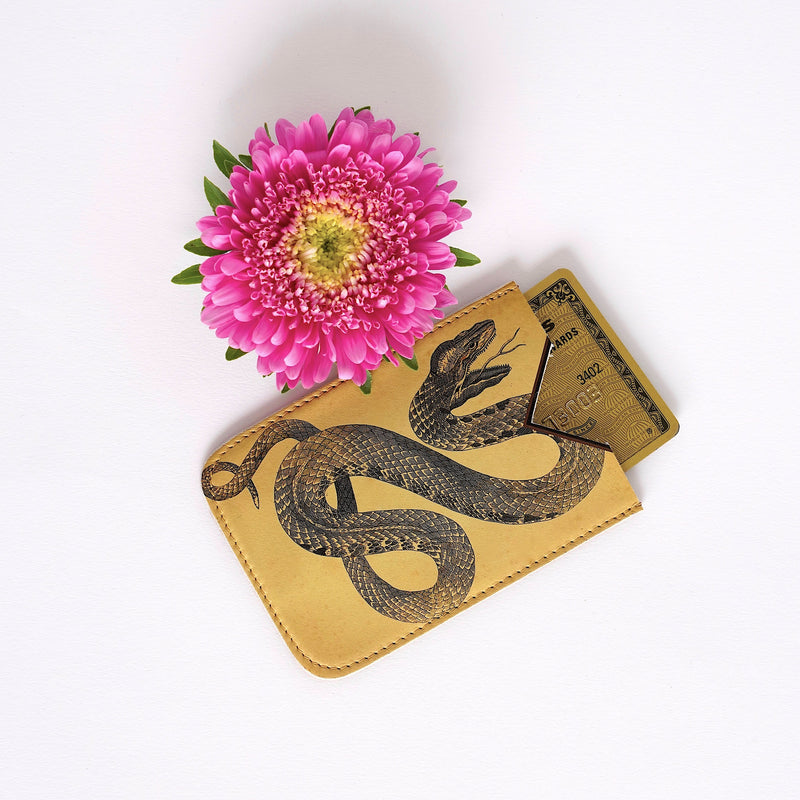 Tovi Sorga - Leather Snake Card Holder
