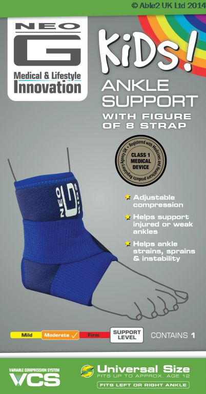 1e97825e92 Neo G Childrens Ankle Support for Arthritis Personal Comfort ...
