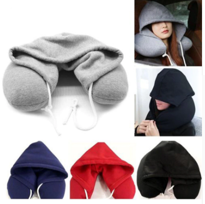 Travel Pillow & Hoodie