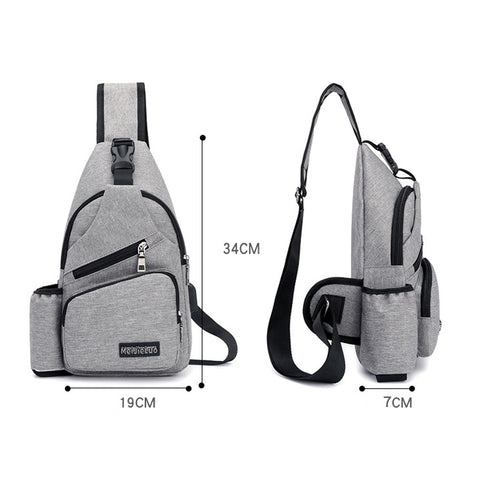 Sling Bag with Charger