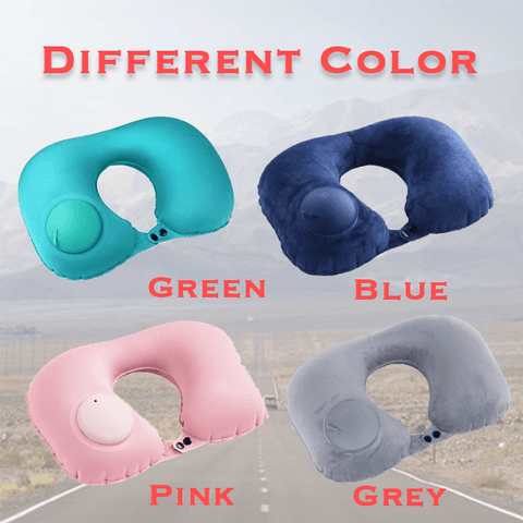 Magic Inflating Neck Pillow