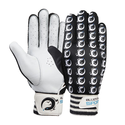 BlueTongue Logo indoor cricket gloves
