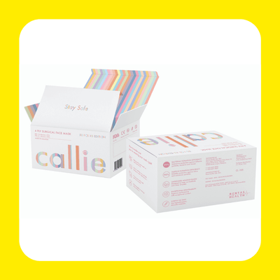 Callie 4-Ply Medical Grade Face Mask - CYCLifecare
