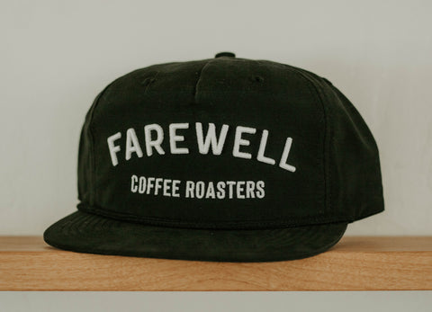 Farewell Hat - Solid Black