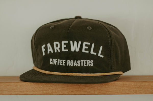 Farewell Hat - Green + Gold