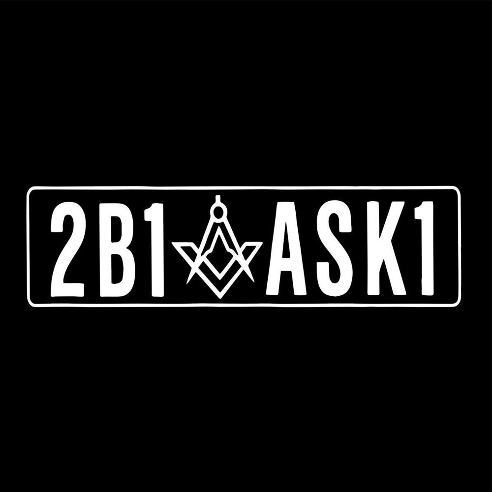 """2B1ASK1"" Decal Sticker"