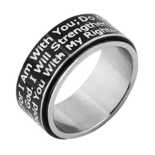 Fear Not! Knight's Templar Wedding Band - SolomonsOrder
