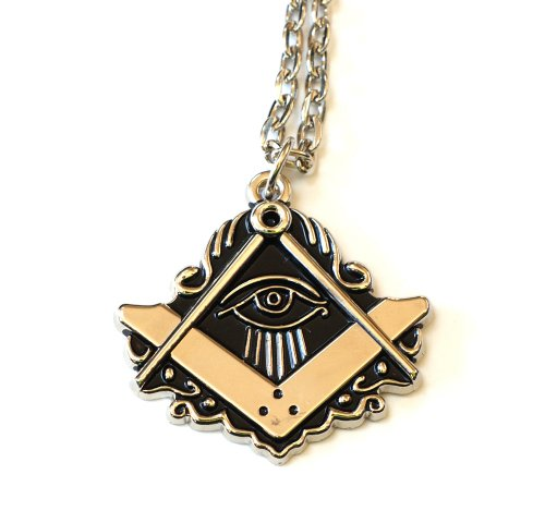 """All Seeing Eye"" Masonic Necklace - SolomonsOrder"