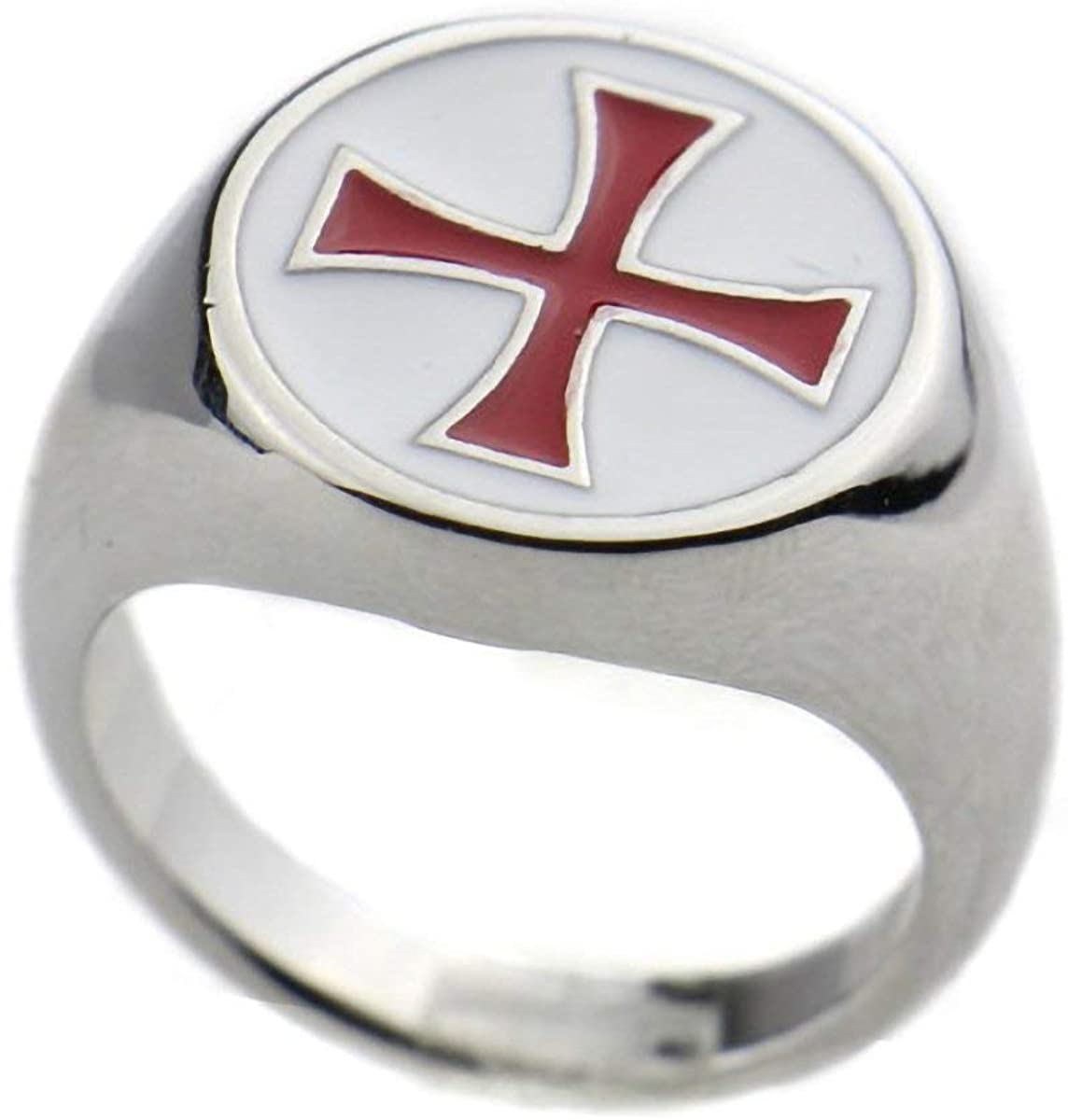 Templar Red Cross Ring - SolomonsOrder