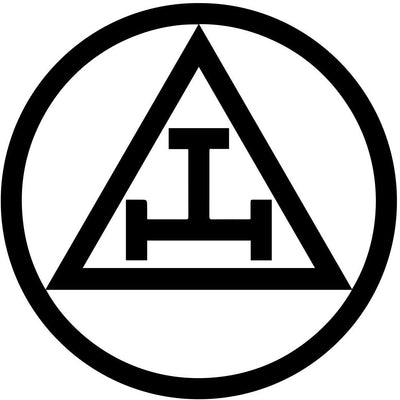 Royal Arch Circle Masonic Vinyl Decal - 6 Inch