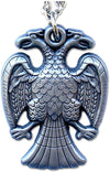 Double Headed Eagle Scottish Rite Necklace - SolomonsOrder