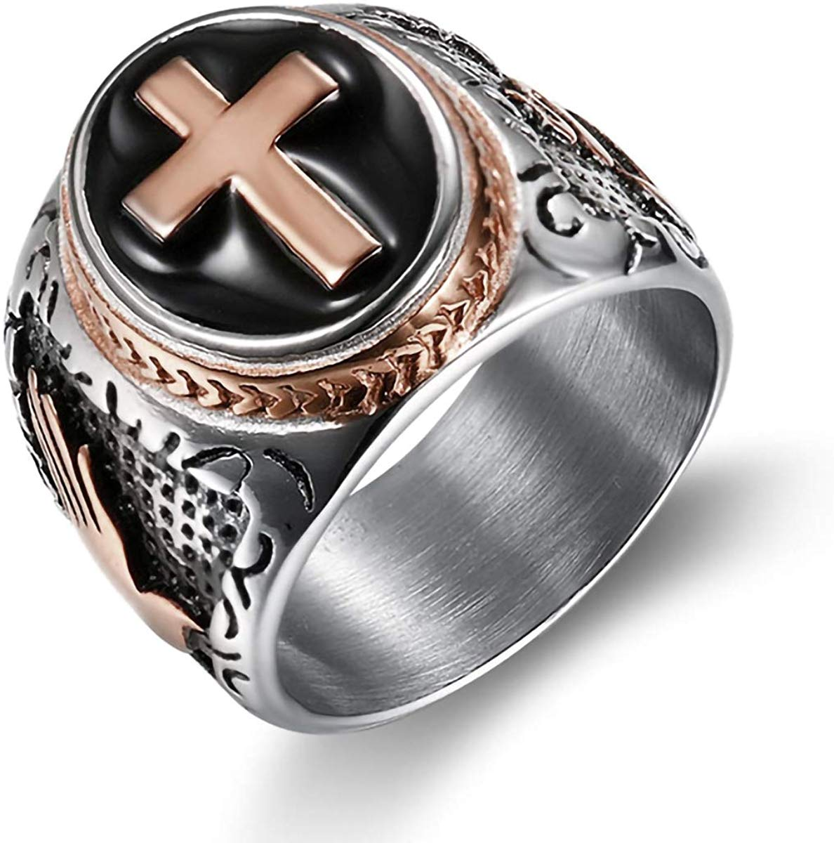 Templar Cross Ring - SolomonsOrder
