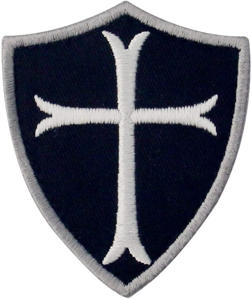 Knights Templar Cross Shield Patch