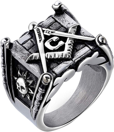 FREEMASON FRATERNITY RING - SolomonsOrder
