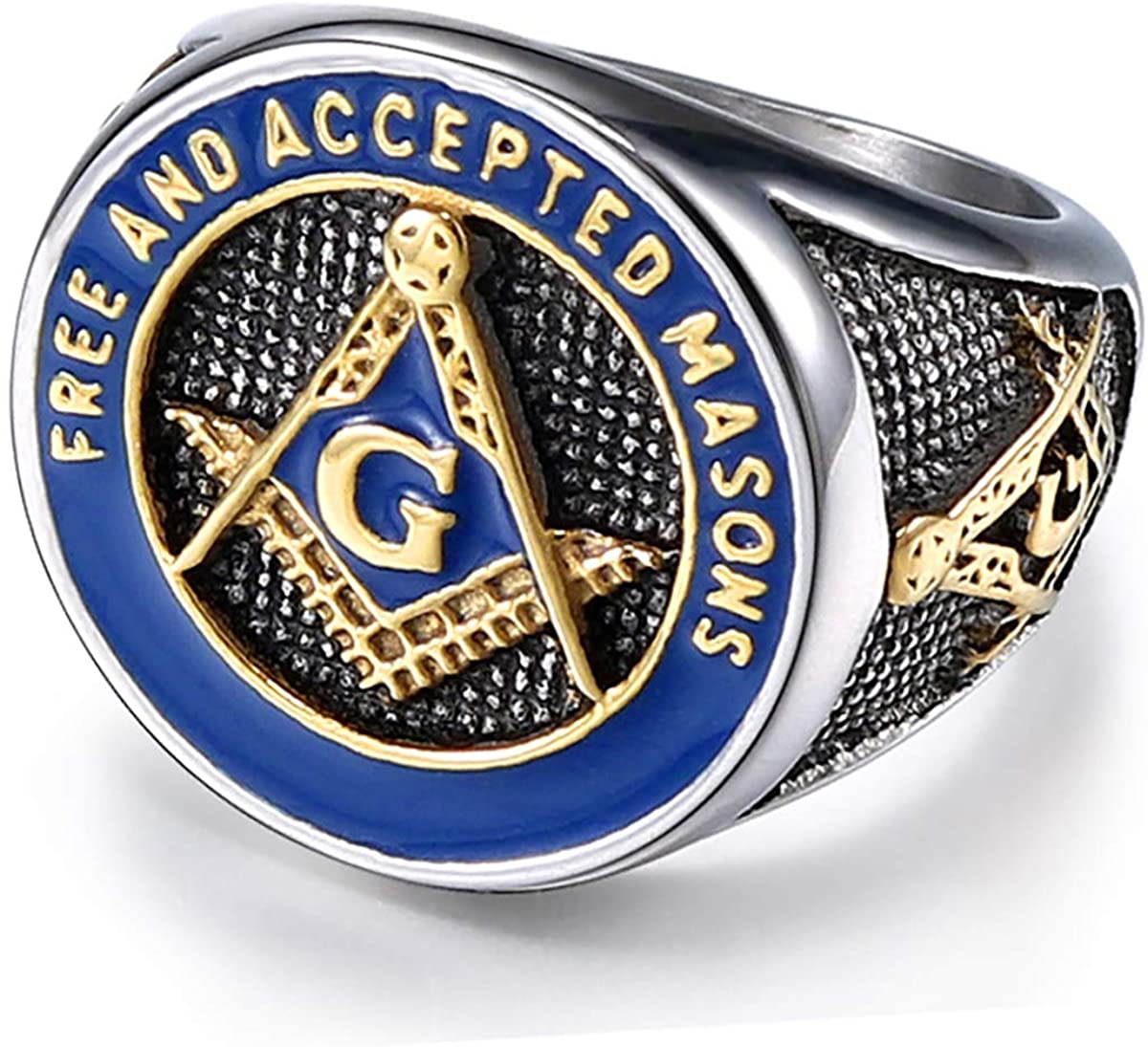 """ Free and Accepted Masonic "" Ring - SolomonsOrder"