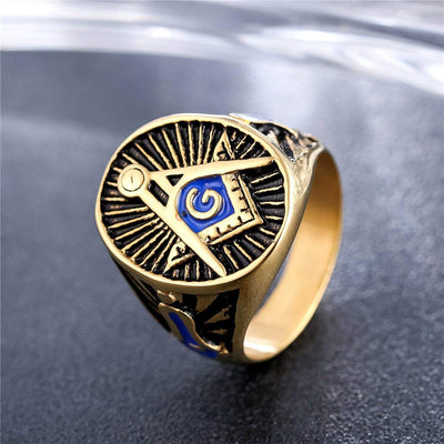 Freemason Blue Rings - SolomonsOrder