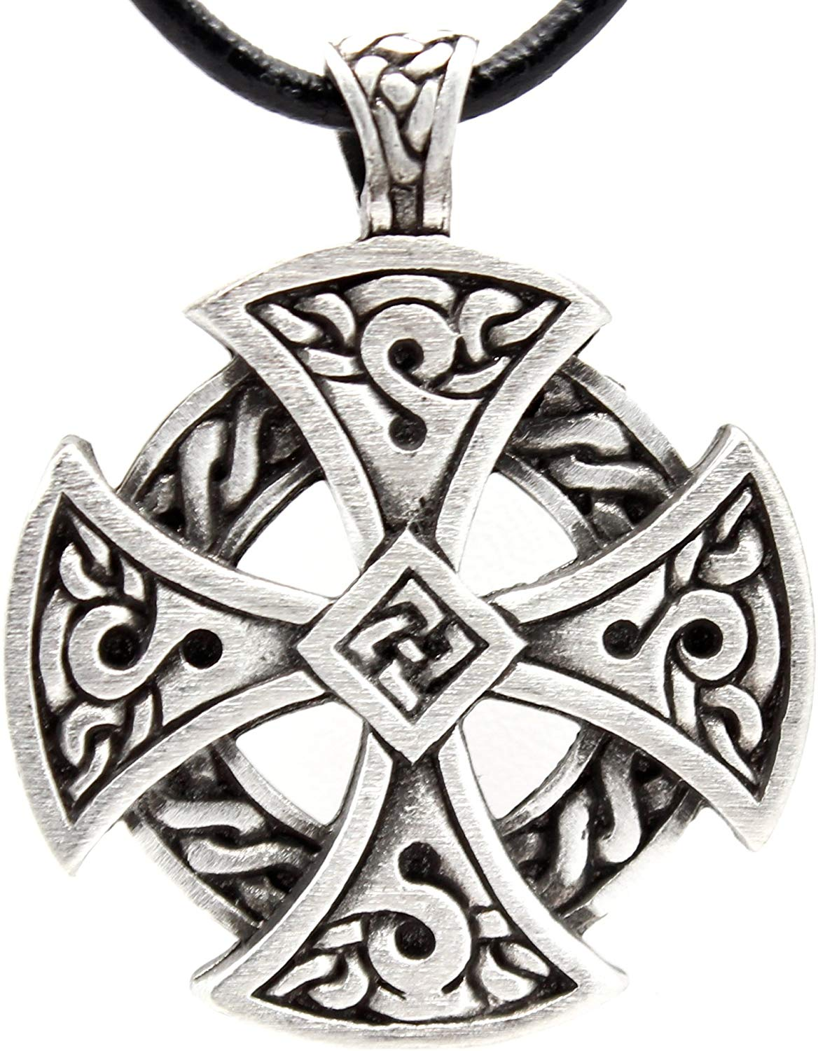 Solar Cross Necklace - SolomonsOrder