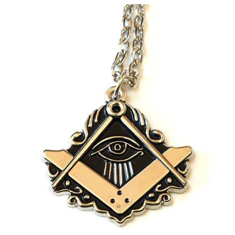 """All Seeing Eye"" Masonic Necklace"