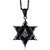 Crystal Star of David Masonic Necklace