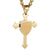 Ephesian 6:15 Knights Templar Cross Necklace