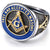 """ Free and Accepted Masonic "" Ring"