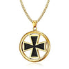 Gold Mid Evil Knight's Templar Necklace