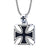 Iron Cross Knight's Templar Necklace