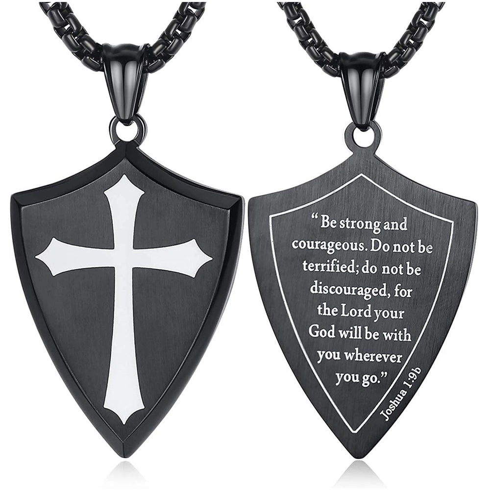 Joshua 1:9 NECKLACE