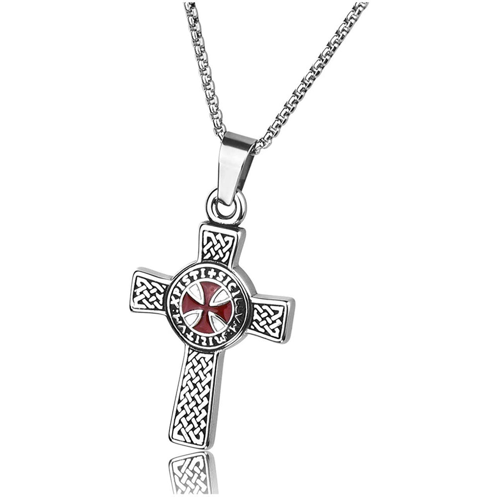 Knight's Templar Cross Necklace