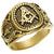 RETRO FREEMASON RING