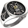 Scottish Rite 33rd Degree Masonic Ring